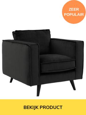 zwarte fauteuil kopen