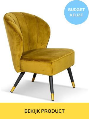 goedkope velvet fauteuil