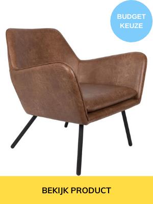goedkope leren fauteuil